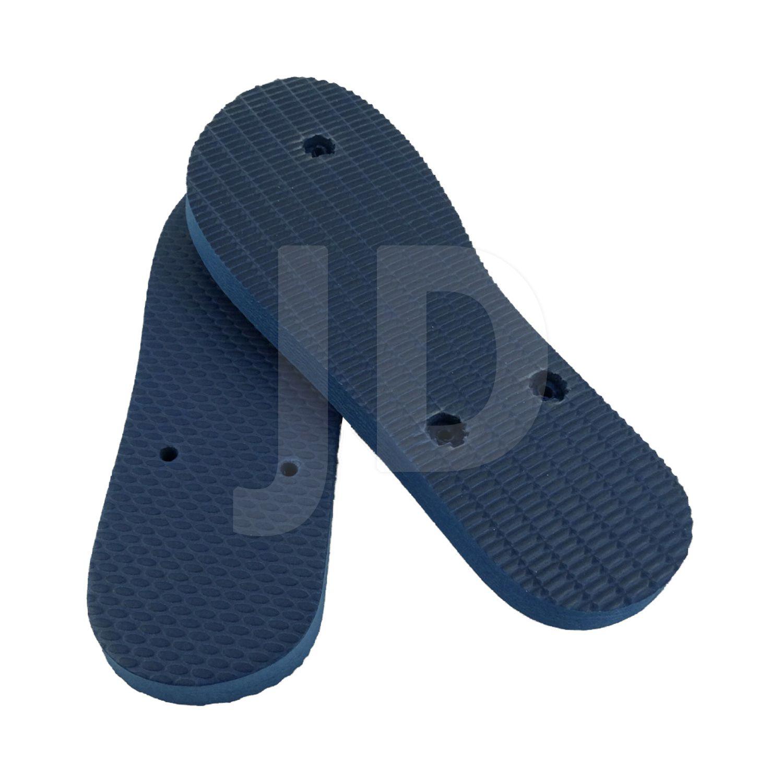 Chinelo Liso - Masculino - Adulto - Tradicional - Azul Marinho