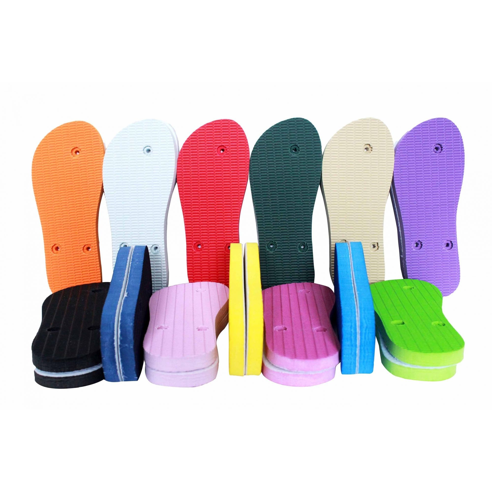 Chinelo Para Sublimação Kit Com 10 Pares Adulto