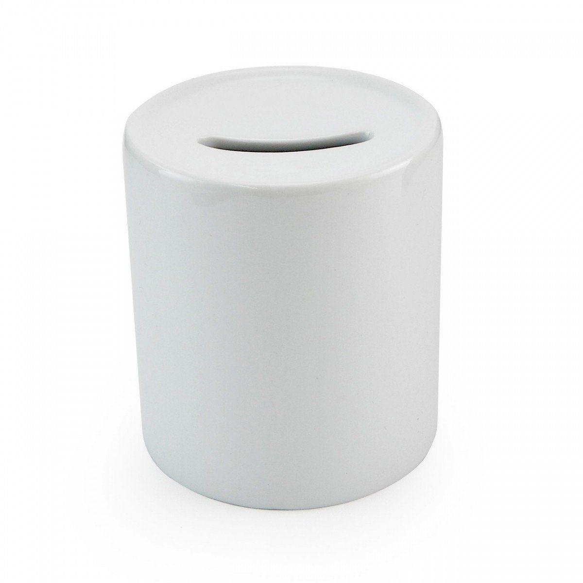 Cofre Branco de Cerâmica Para Sublimação