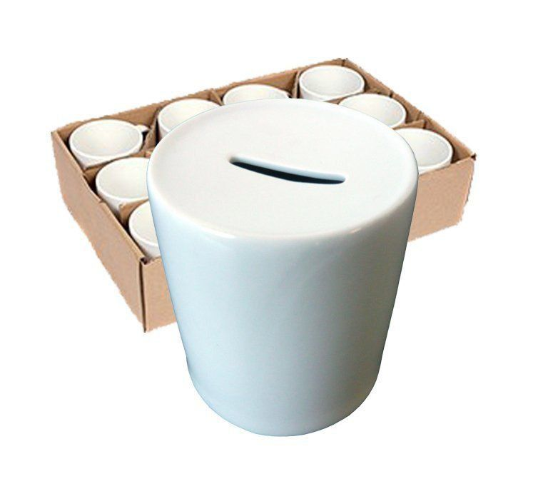 Cofre de Cerâmica para sublimação 12 unidades