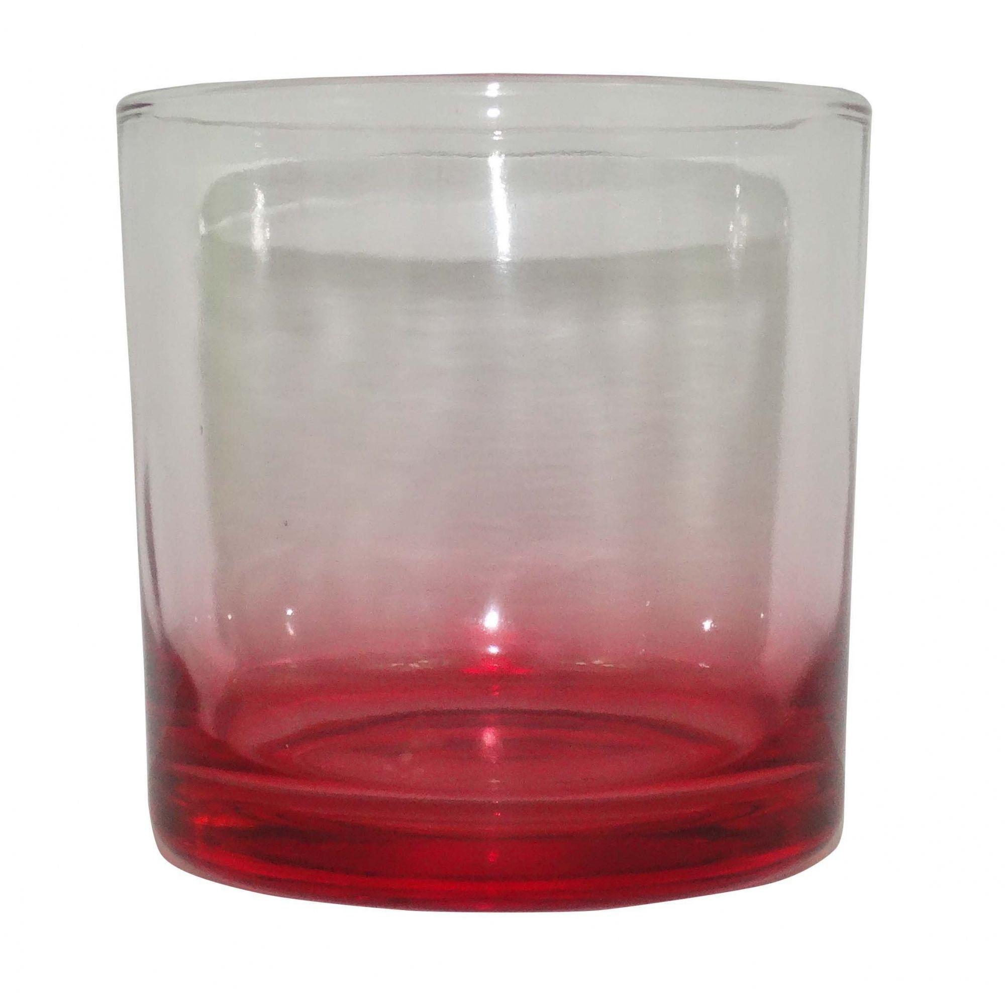 Copo de Whisky Vermelho
