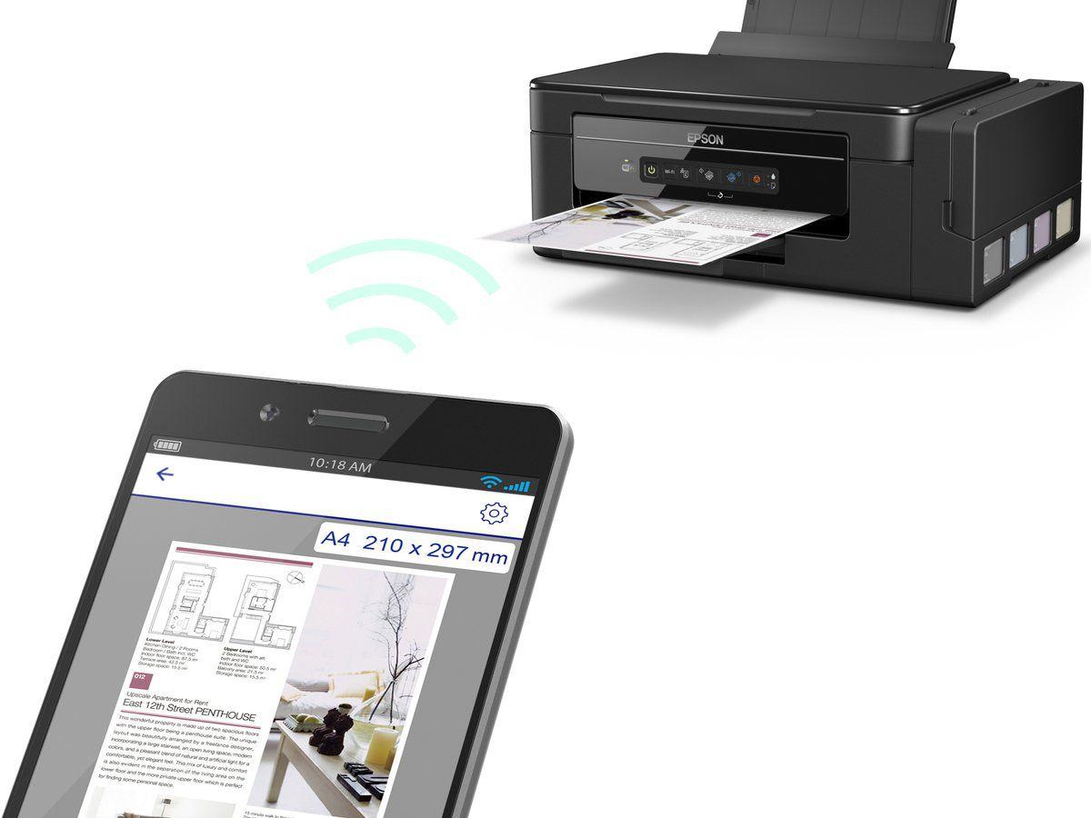 Impressora Multifuncional Epson Ecotank L3150 - Wi-Fi - Sublimática