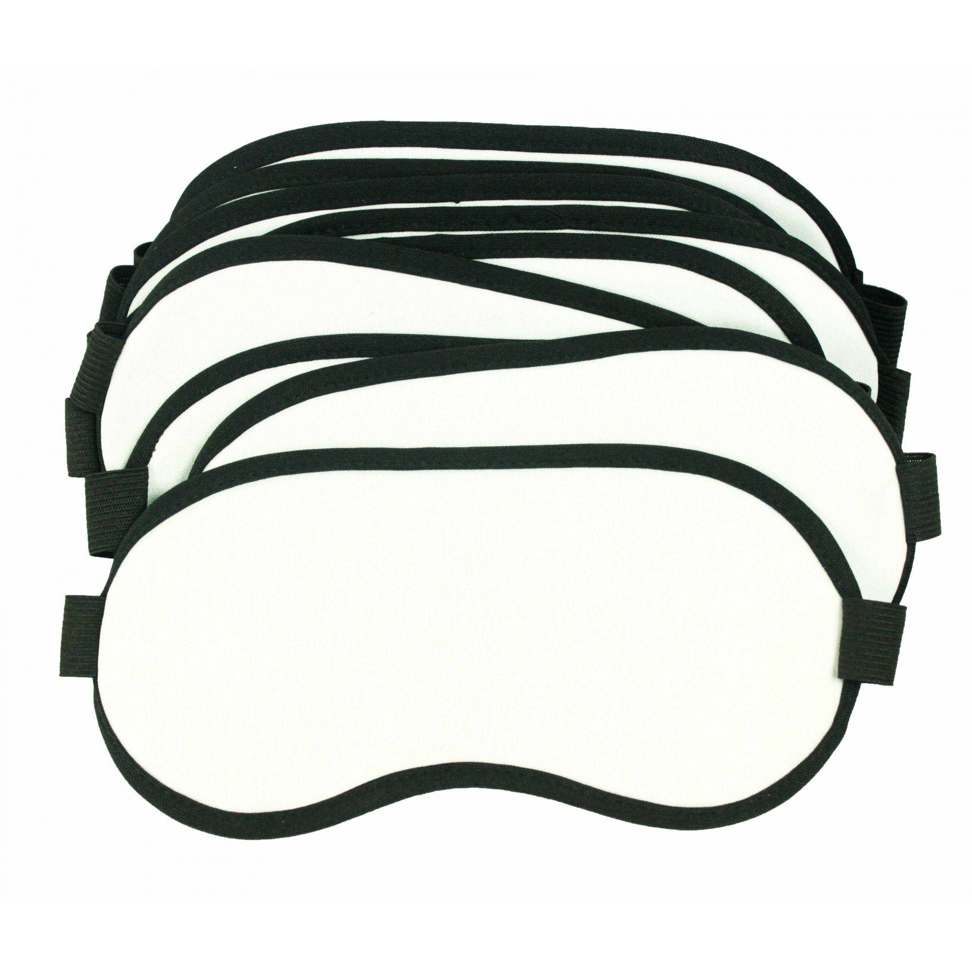 Máscara de Dormir  para sublimação pct 50 unidades