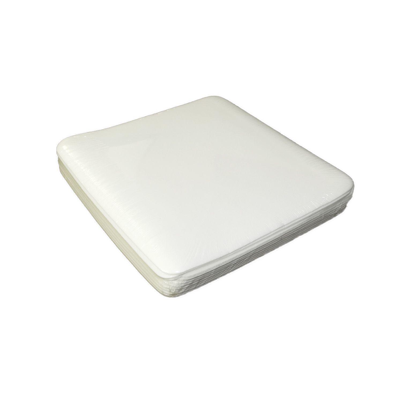 Mouse Pad Para Sublimação Quadrado Branco 188x188mm Pct 10un