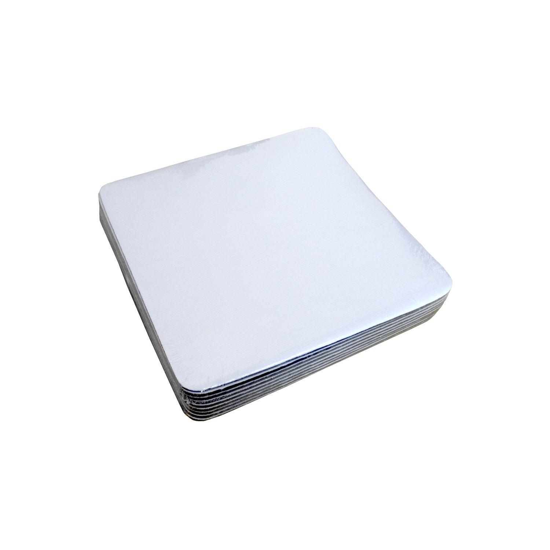Mouse Pad Sublimático - Quadrado - 18,8x18,8cm - Pct 500un