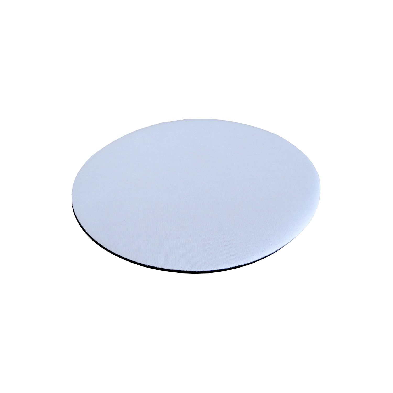 Mouse Pad Sublimático - Redondo - Diâmetro 18,8cm - Pct 10un
