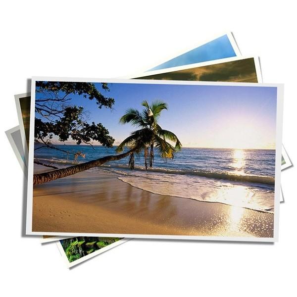 Papel Fotográfico Glossy 230g/m² A4 pct com 100 folhas