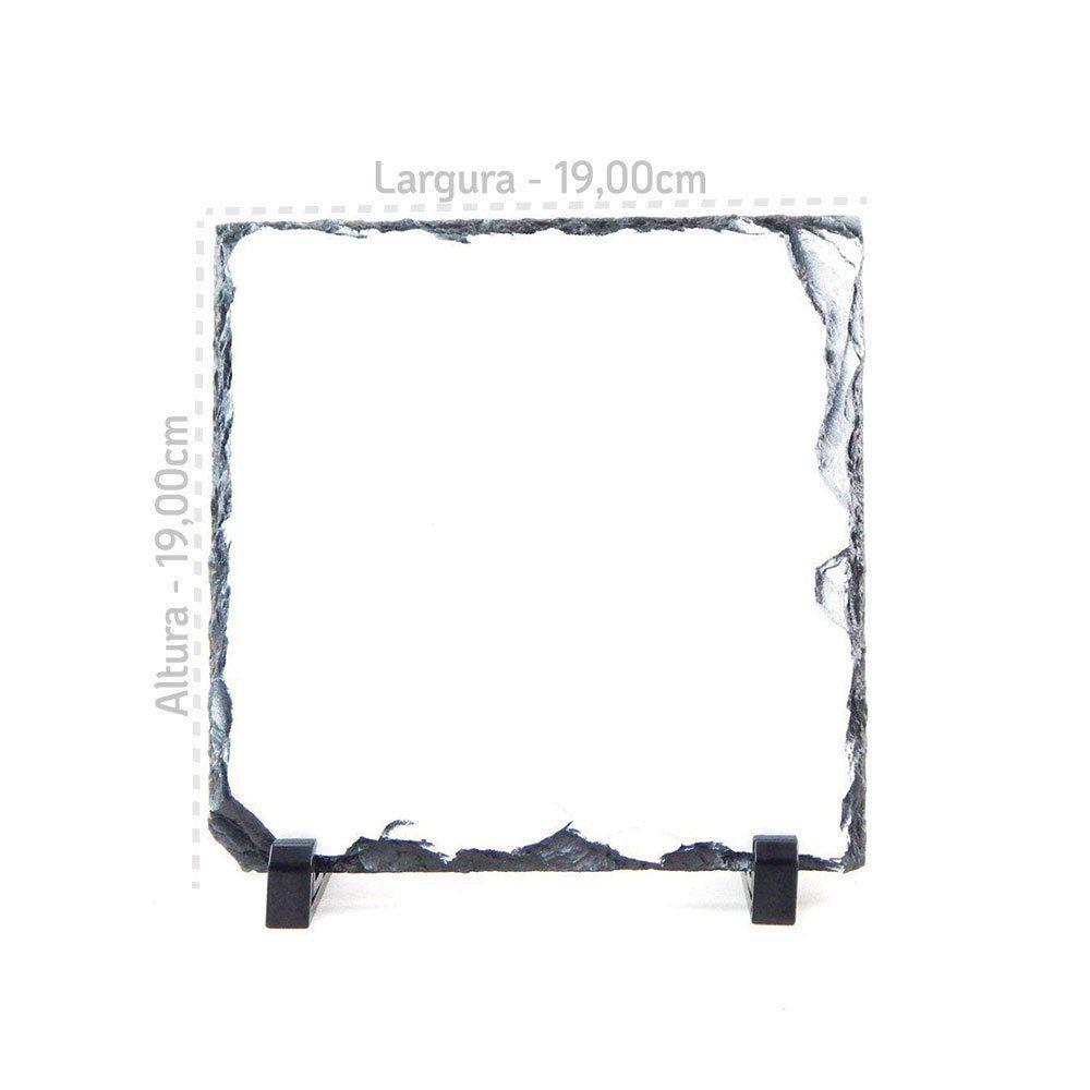 Pedra Para Sublimação Quadrada - 19 x 19cm SH-25