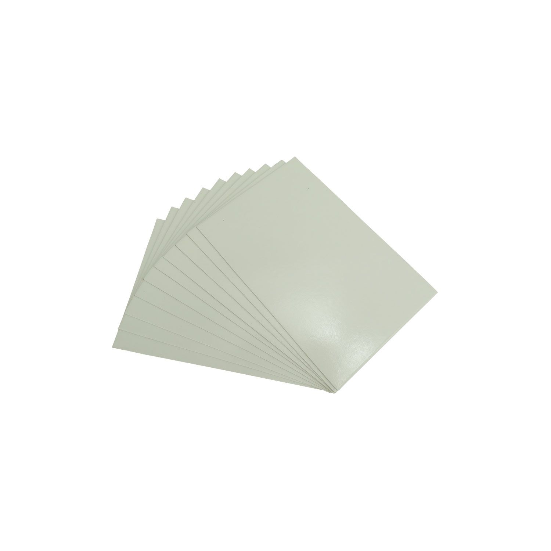 Plaquinha de Imã Para Sublimação - 10x15cm - Pct 10 und