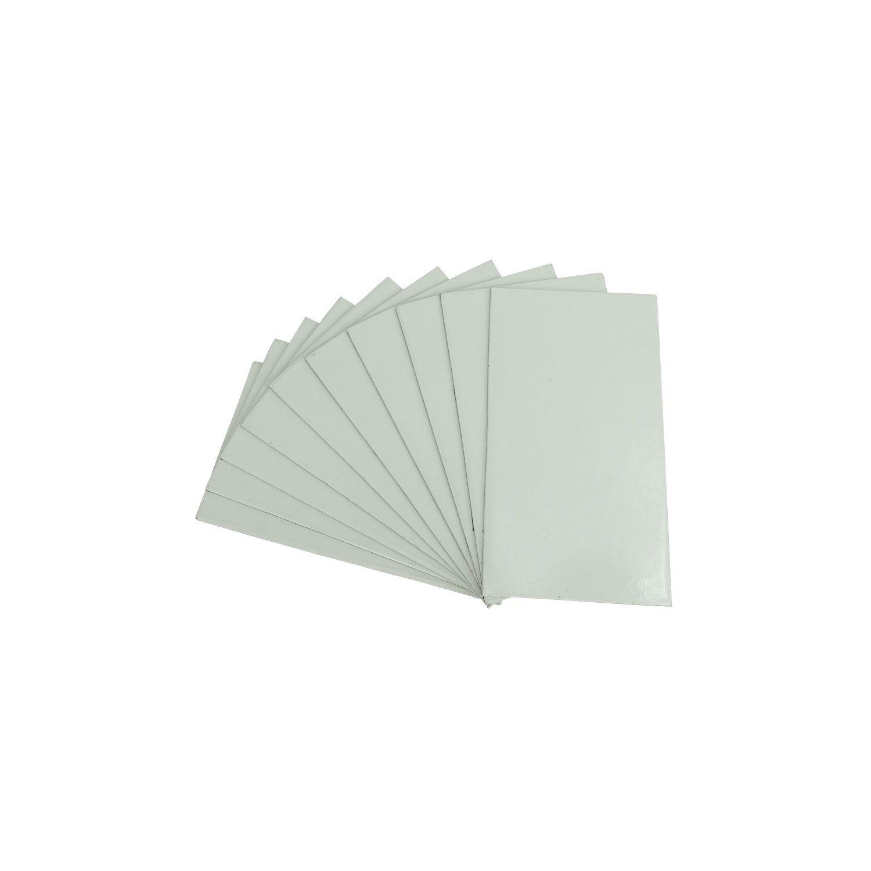 Plaquinha de Imã Para Sublimação 5x9cm - Pct 10 Und
