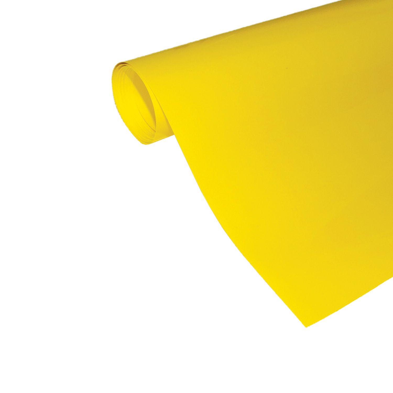 Power Film Brilhante - Amarelo - 50cm x 100cm (Largura x Comprimento)