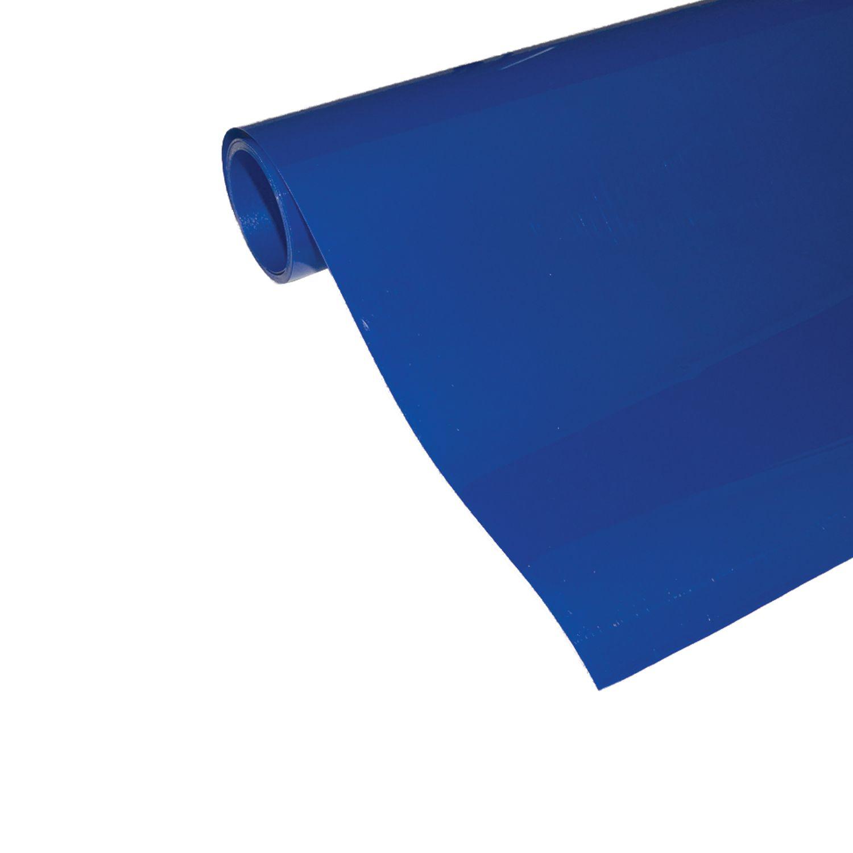 Power Film Brilhante - Azul - 50cm x 100cm (Largura x Comprimento)