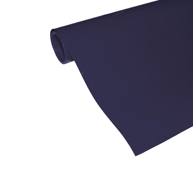 Power Film Brilhante - Azul Marinho - 50cm x 100cm (Largura x Comprimento)