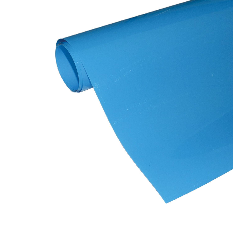 Power Film Brilhante - Azul Claro - 50cm x 100cm (Largura x Comprimento)