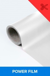 Power film brilhante branco  0,50m² (1/2 de m²)