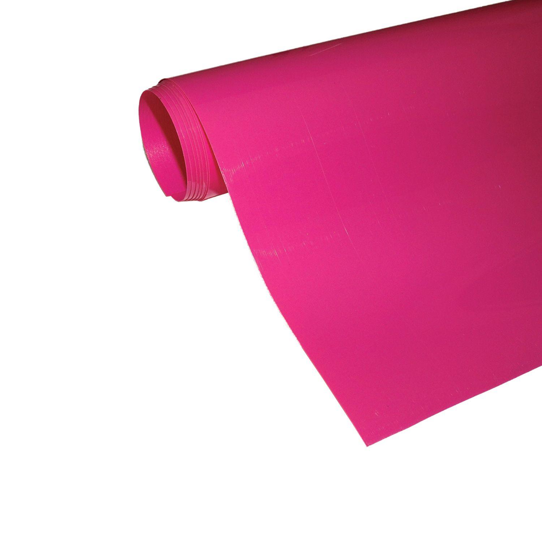 Power Film Brilhante - Rosa - 50cm x 100cm (Largura x Comprimento)