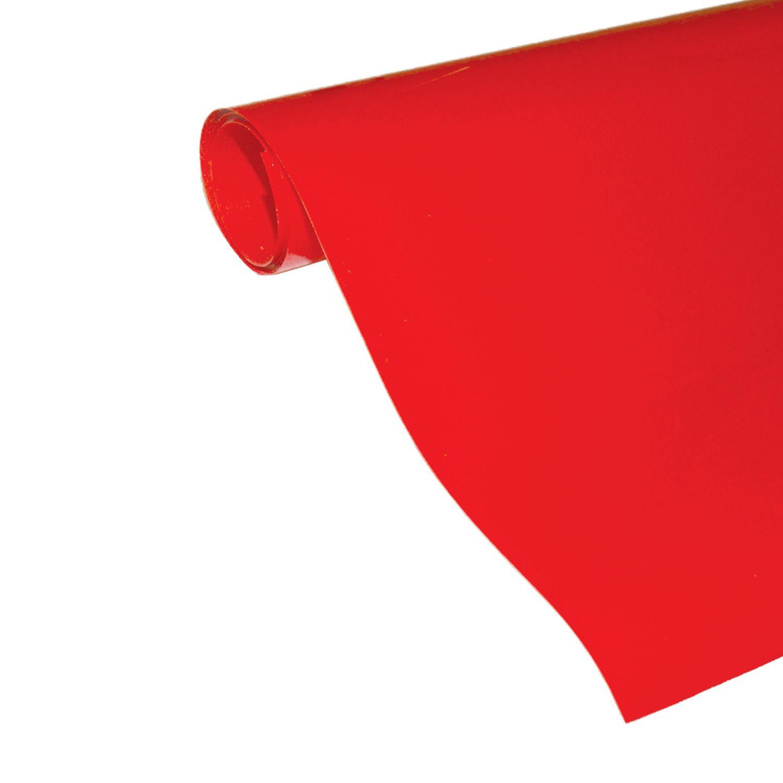 Power Film Brilhante - Vermelho - 50cm x 100cm (Largura x Comprimento)