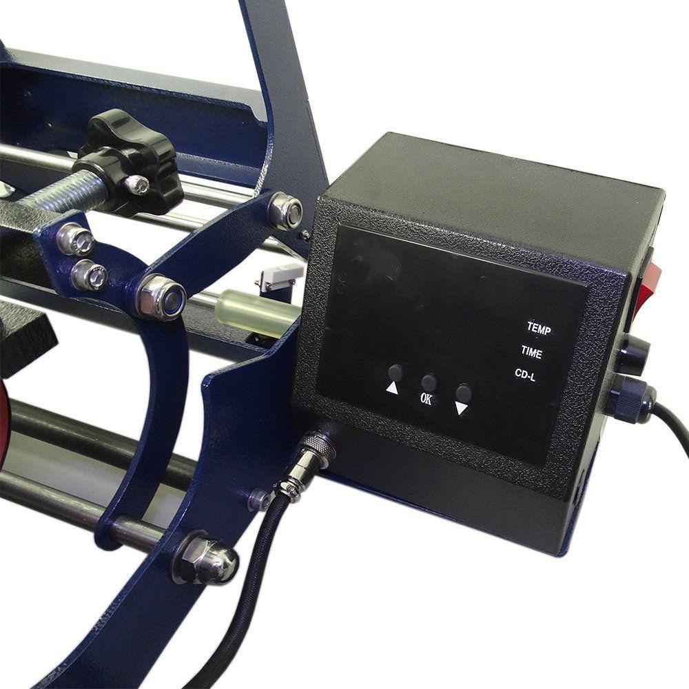 Prensa Térmica Para Caneca 6x1 Display Digital 220v - Premium