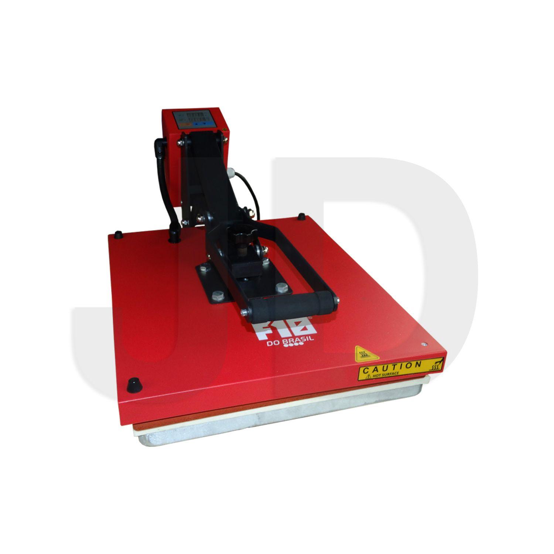 Prensa Térmica Plana + Kit De Teste - 40x50cm - F10 Do Brasil - 220v
