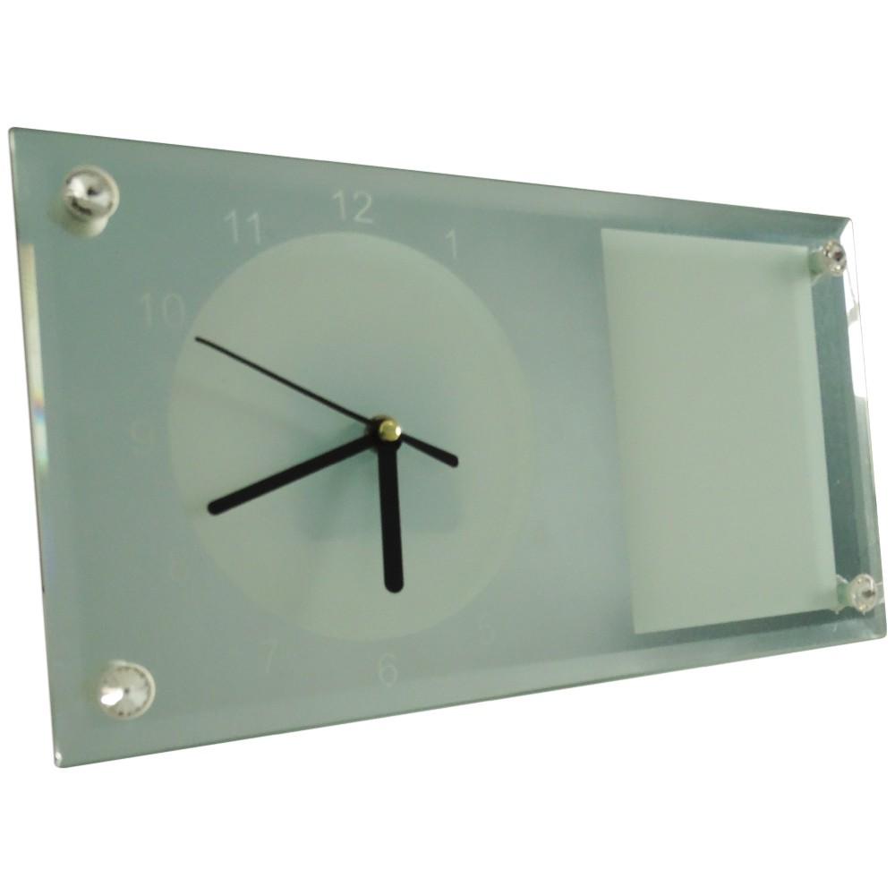 Relógio para Sublimação com Porta Retrato BL-11