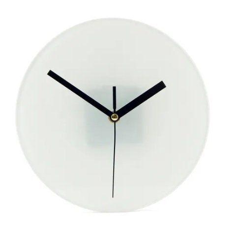 Relógio de Vidro para Sublimação de Parede - BL-27