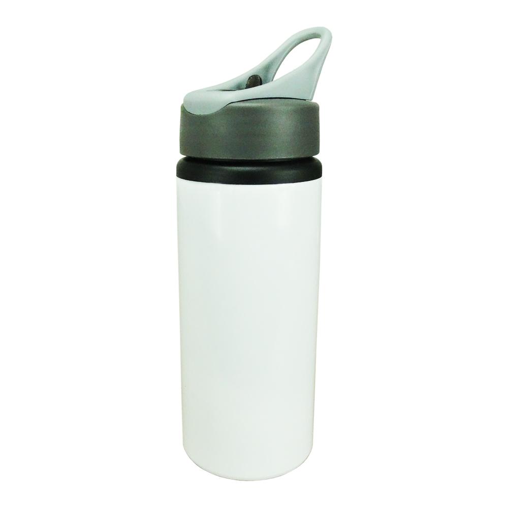 Squeeze Branco - Para Sublimação - Bico Anatômico - Modelo Nike - 600ML
