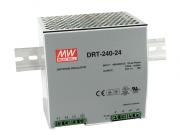 DRT-240 - Fonte de Alimentação Chaveada Trifásica 240Watts, Trilho DIN