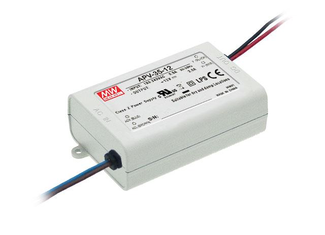 APV-35 - Fonte de Alimentação Chaveada 35Watts para LED