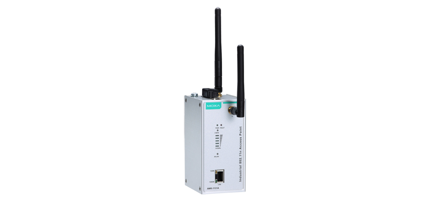 AWK-1131A-US - Wireless Industrial Ap/Cliente Ieee 802.11A/B/G/N, Banda Us, Mimo Até300Mbps, 1X10/100/1000Base-T(X)