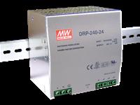 DRP-240 - Fonte de Alimentação Chaveada 240Watts, Função PFC, Trilho DIN