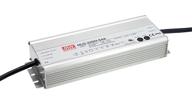 HLG-320H - Fonte de Alimentação Chaveada 320Watts para LED