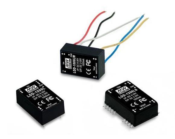 LDD-H - Conversor DC/DC Encapsulado LED, Corrente Constante