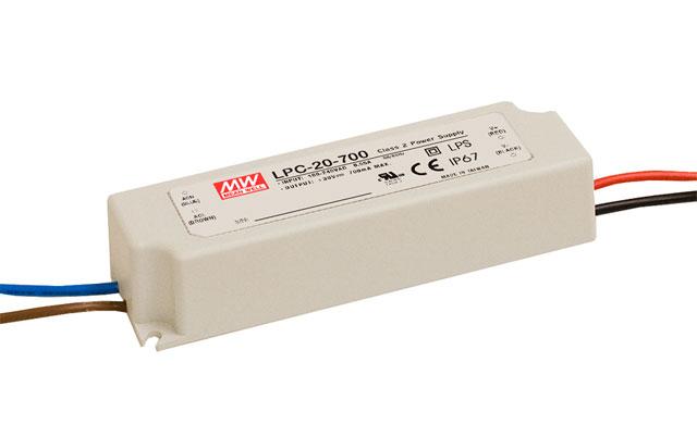 LPC-20 - Fonte de Alimentação Chaveada 20Watts para LED
