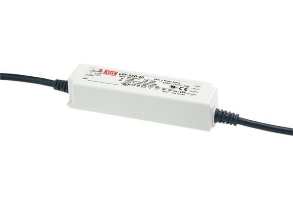 LPF-25D - Fonte de Alimentação Chaveada 25Watts para LED