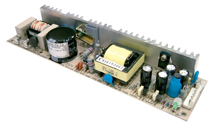 LPS-75 - Fonte de Alimentação Chaveada 75Watts, Sem Caixa