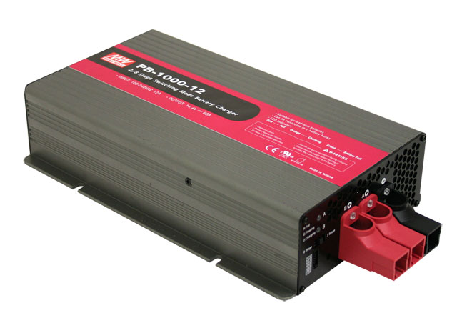 PB-1000 - Carregador Industrial de Bateria de 1000Watts