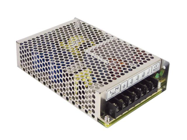 RS-100 - Fonte de Alimentação Chaveada Industrial em Miniatura de Baixo Custo de Saída Única de 100Watts