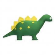 Almofada Decorativa Dinossauro Amarelo e Verde