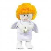 Anjinho Plush Médio Branco Oração