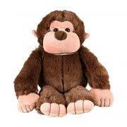 Macaco Pelúcia Importada Médio Marrom