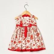 Vestido Regata Floral Laço