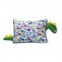 Travesseiro Dinossauro Infantil Amarelo e Verde