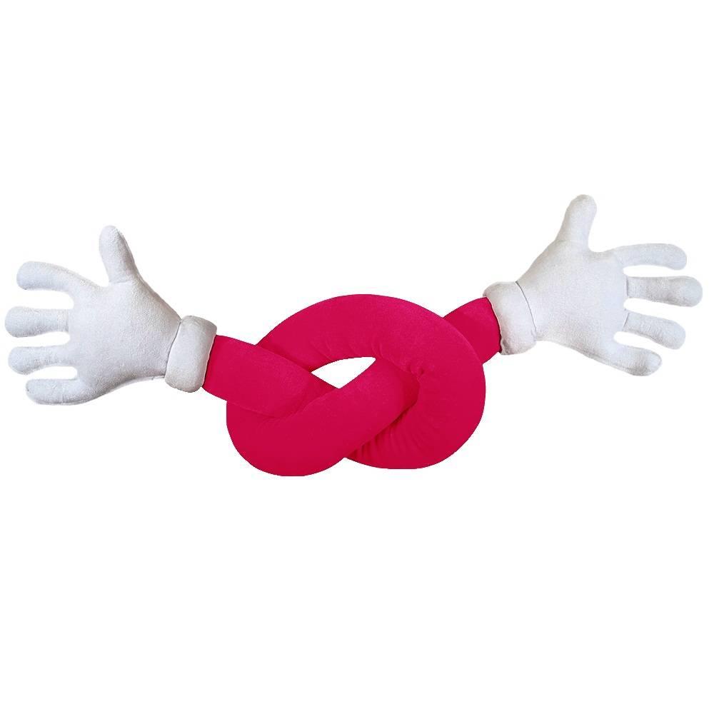 Abraço de Pelúcia Plush Pink Maozinhas