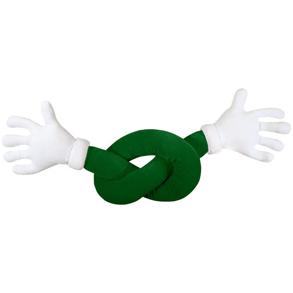 Abraço de Pelúcia Plush Verde Maozinhas