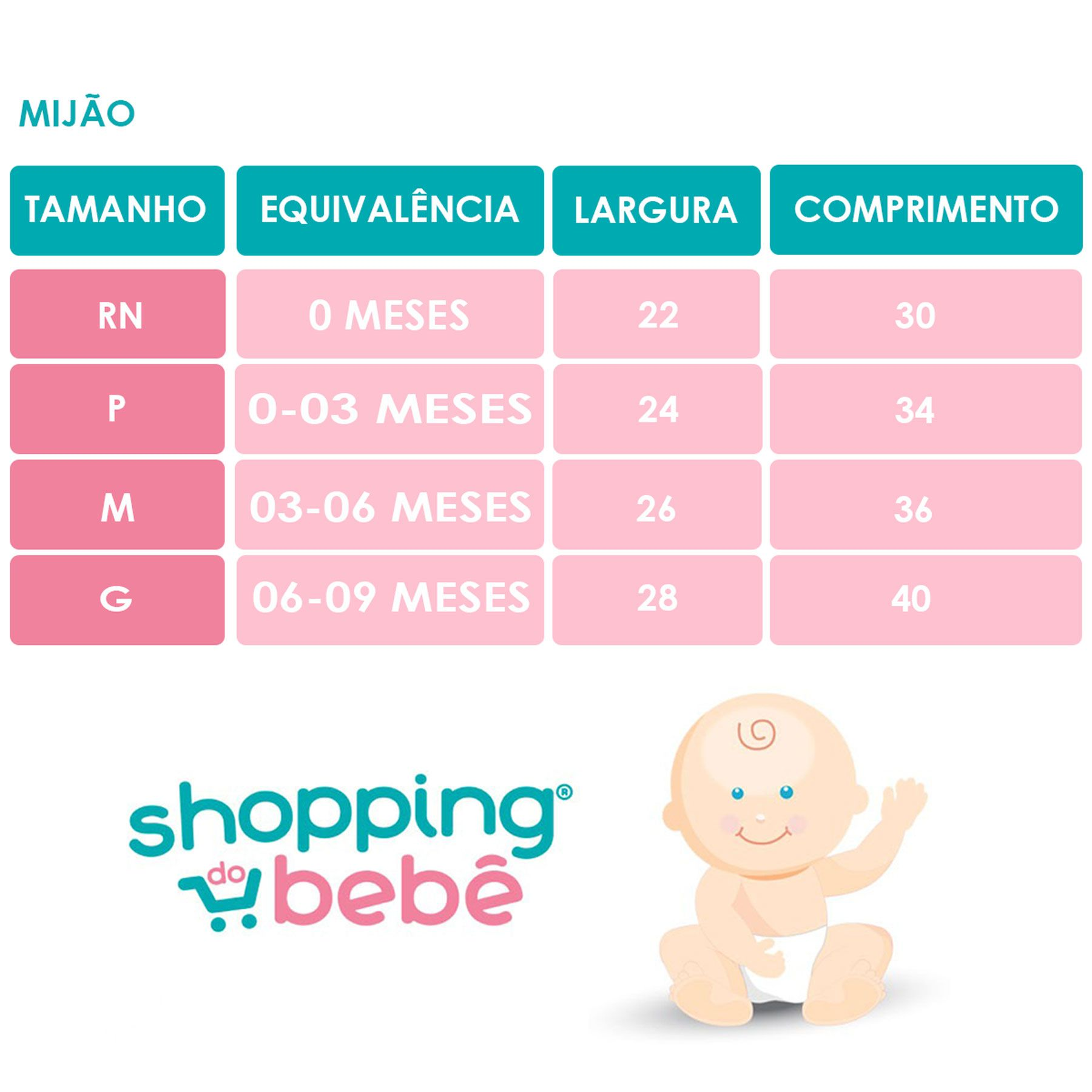 Calça Mijão (Culote) Bebê Malha Vira Pé Reversível Liso Rosa