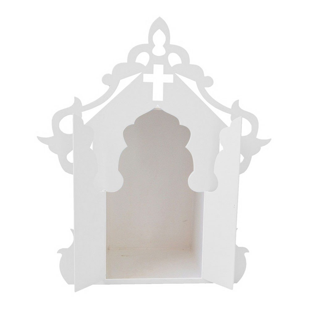 Capelinha para Santos Branca Mdf