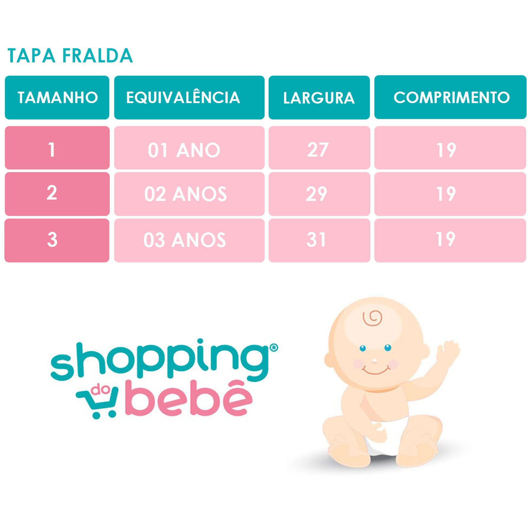 Conjunto Tapa Fralda e Babador Bandana Impermeável com Regulagem Infantil Malha Liso Marinho