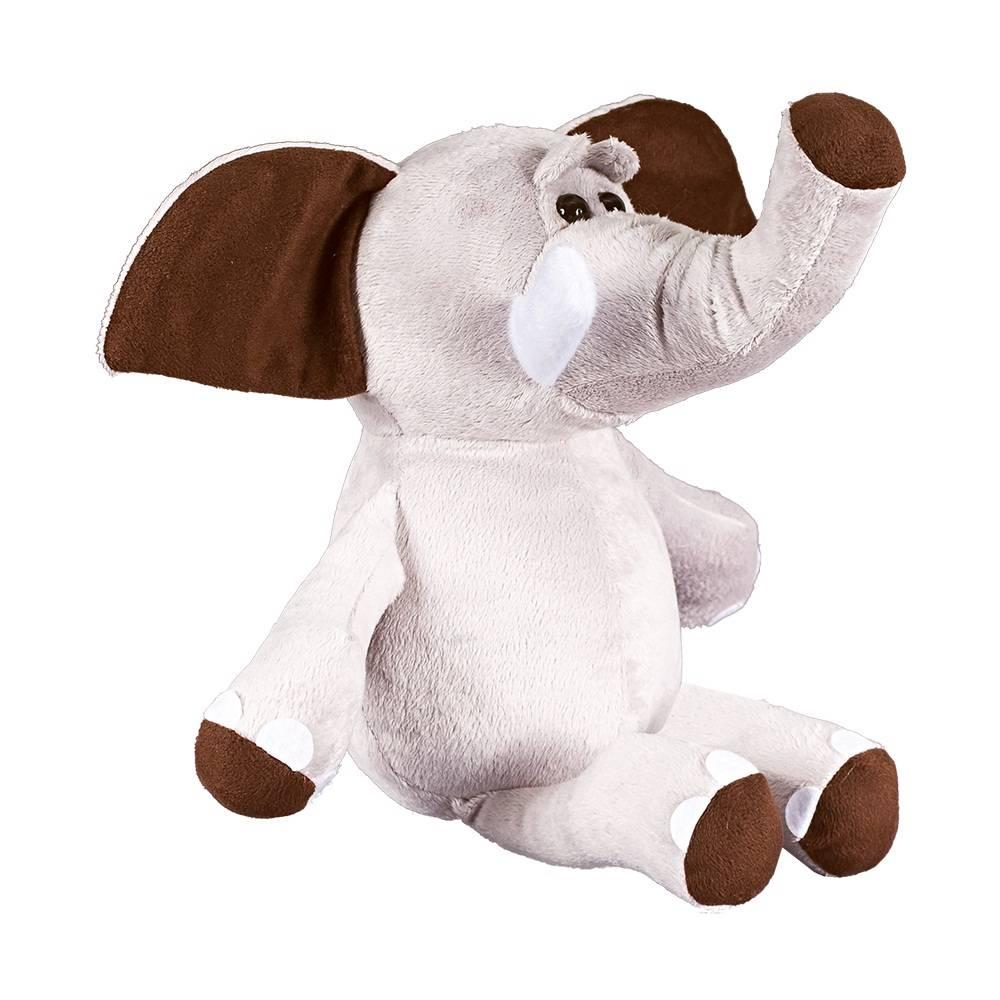 Elefante Soft Médio Cinza