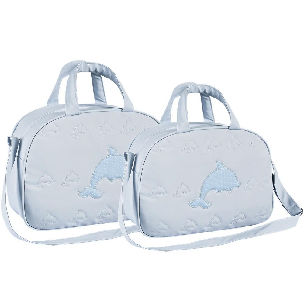 Kit Bolsas 2 Peças Nylon Golfinhos