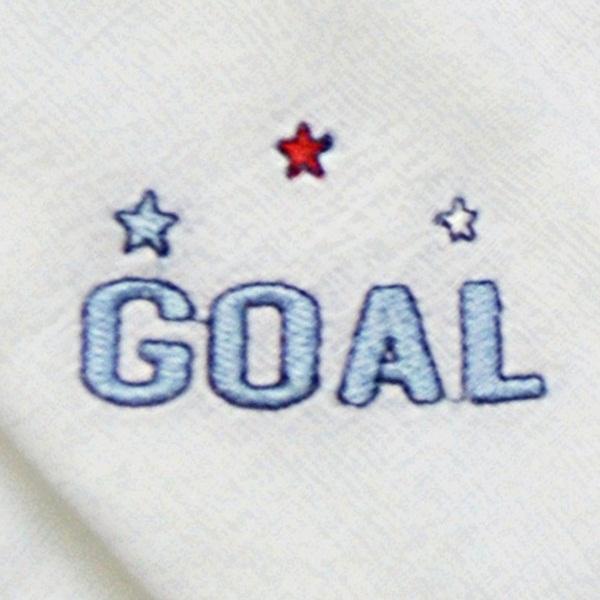 Kit Fraldas de Boca (Babete) 3 Peças Forrada Bola Troféu Goal
